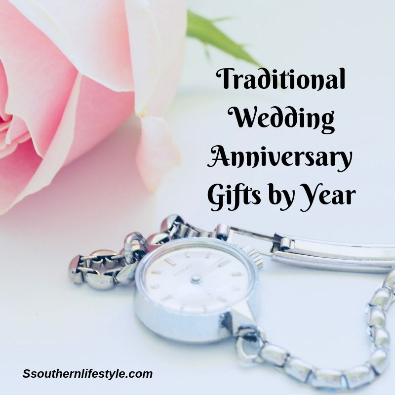 Traditional Wedding Anniversary Gifts By Year